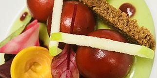 Recette de Bonbons de foie gras proposée par le Pré Saint Jean (® tables gourmandes)