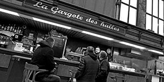 La Gargote des Halles à Béziers vous propose de faire cuire ce que vous achetez dans les Halles et présente également une carte avec des produits frais et une cuisine fait maison.(® SAAM-Fabrice Chort)