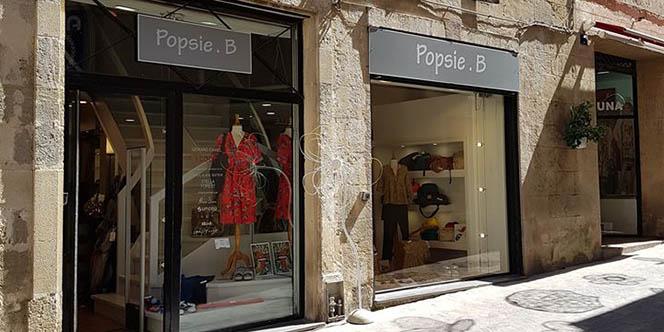Popsie B présente la collection Printemps-Eté Femme dans sa boutique au centre-ville de Béziers.(® facebook popsie b)